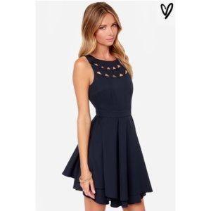 Black lulus dress